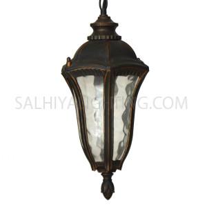 Outdoor Hanging Light 0145-H - Bronze