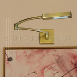 LED Mirror Light / Picture Light 3091 -  Brass