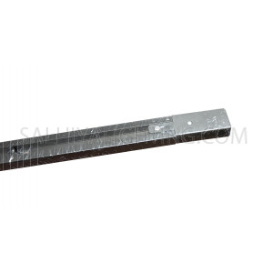 Track Head  Rail Light - 2Meters - Black