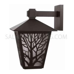 Outdoor Wall Light 146 - 102 - E27 Glass Diffuser - Black