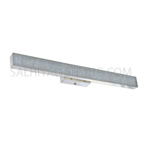 LED Mirror Light / Picture Light Steel  A228-8 E27 XH136 - Silver
