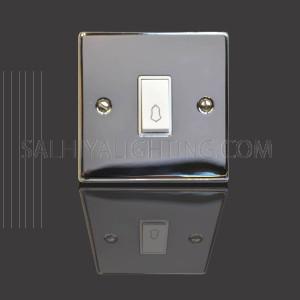 Door Bell 1Gang 10Amp T317EB - Chrome