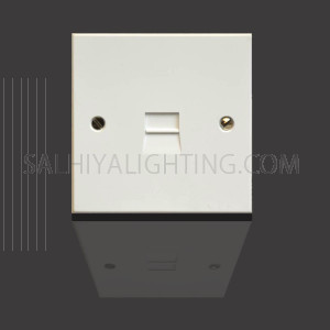 Telephone Master Socket LJ3/4A - White