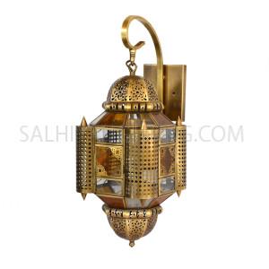Indoor Arabic Wall Light DT132 - Brass