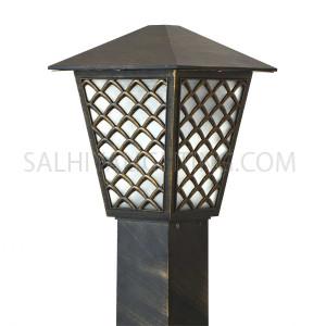 Bollard Light 145 - 106 - E27 Glass Diffuser - Goldmine