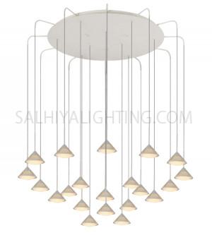 Modern Stylish Sleek Pendant Light 101200070045-LED 21x4W 3000K - White