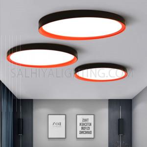 Indoor Ceiling Light LED-11010041010PU-19W-3000K-Black/Red