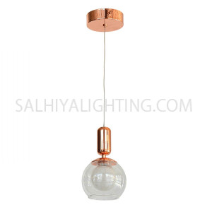 Indoor Hanging Light LED MD16003011-1A - Rose Gold
