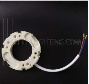 GX53 WHITE LAMP HOLDER