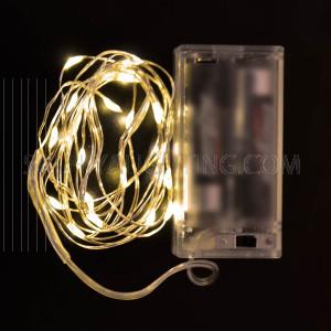 5pcs - String Decoration Light Warm White 20LED (2M) Battery Operated