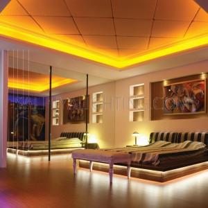 50M High Quality LED Flexible Strip Light 5050 8W/M IP65  - Yellow