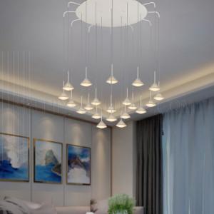 الإضاءة الداخلية-إضاءة إلى الإسفل- موفرة للطاقة - أبيض خفيف 3000K-5W-H6521-800