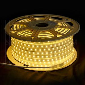 الأضاءة الداخلية - الشريط الضوئي - موفر للطاقة أبيض خفيف 50 متر(3000K) 8W/M IP65