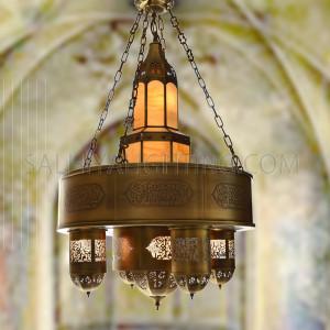 الأضاءة الداخلية - الأضاءة العربية - اللون نحاسي DT1187